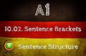 German Sentence Brackets