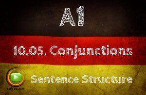 German Conjunctions