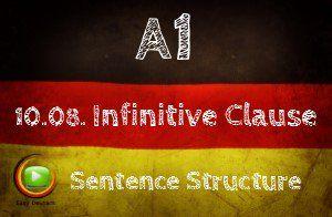 German Infintive Clauses