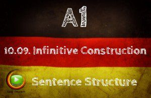 German Infinitive Constructions