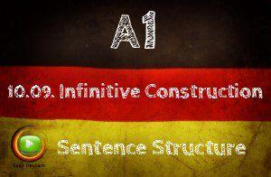 German Infinitive Constructions