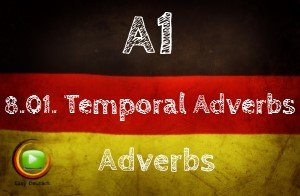 German temporal adverbs
