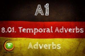 German temporal adverbs