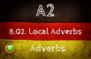 German Locative Adverbs