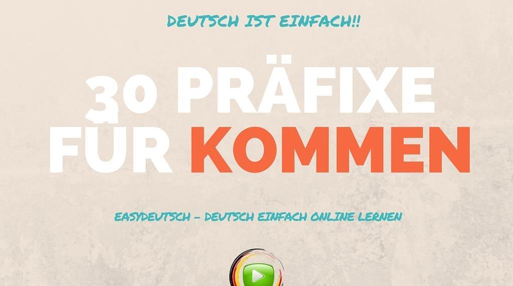 Deutsche Wörter kommen