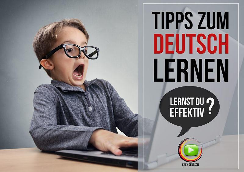 Deutsch lernen Tipps