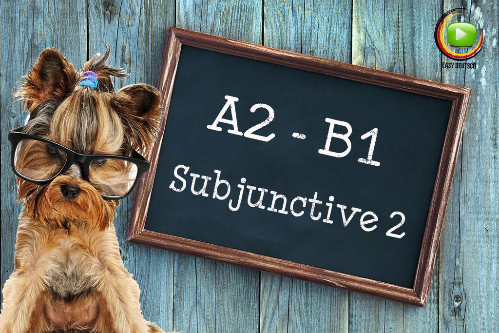 Subjunctive-2