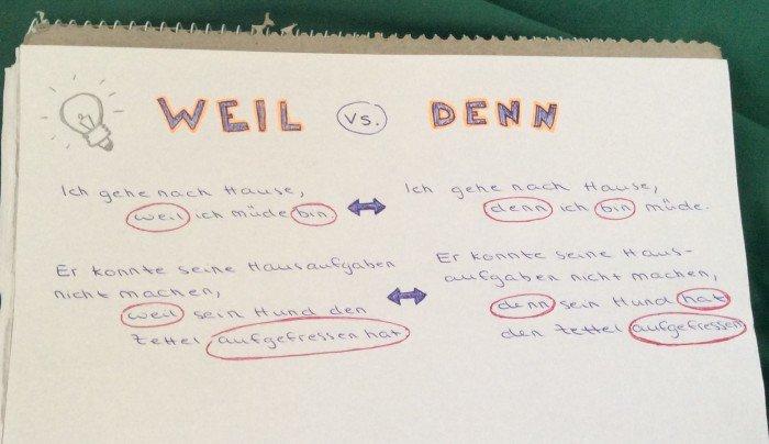 Grammatik Tipps Deutsch