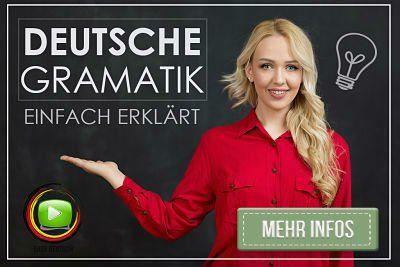 Deutsche Grammatik lernen