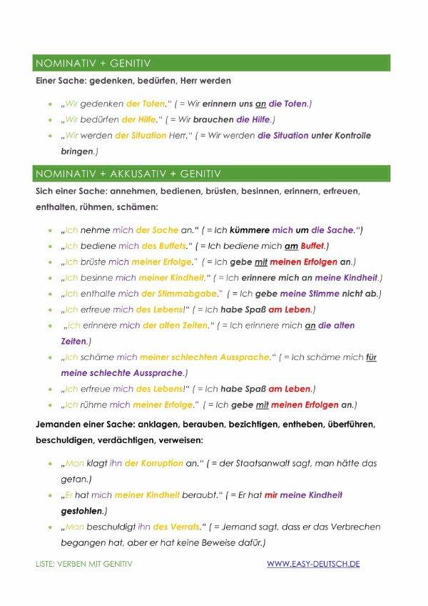 Grammatiklisten Die Jeder Braucht Easydeutsch