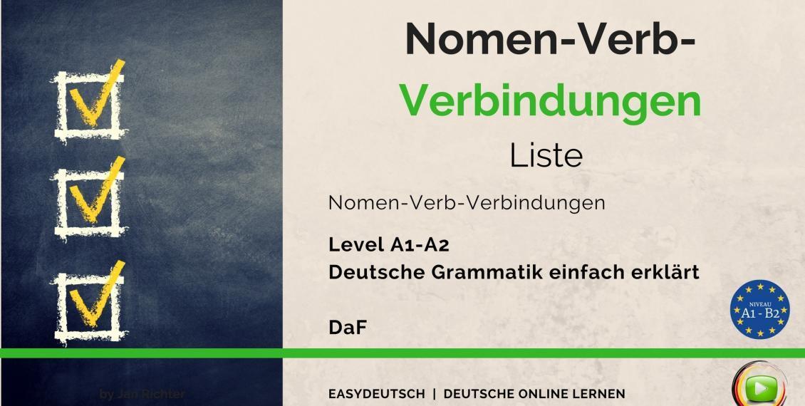 Nomen-Verb-Verbindungen