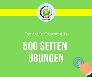 Grammatikübungen Deutsch