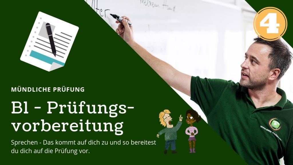 B1 Prüfungsvorbereitung mündliche Deutschprüfung