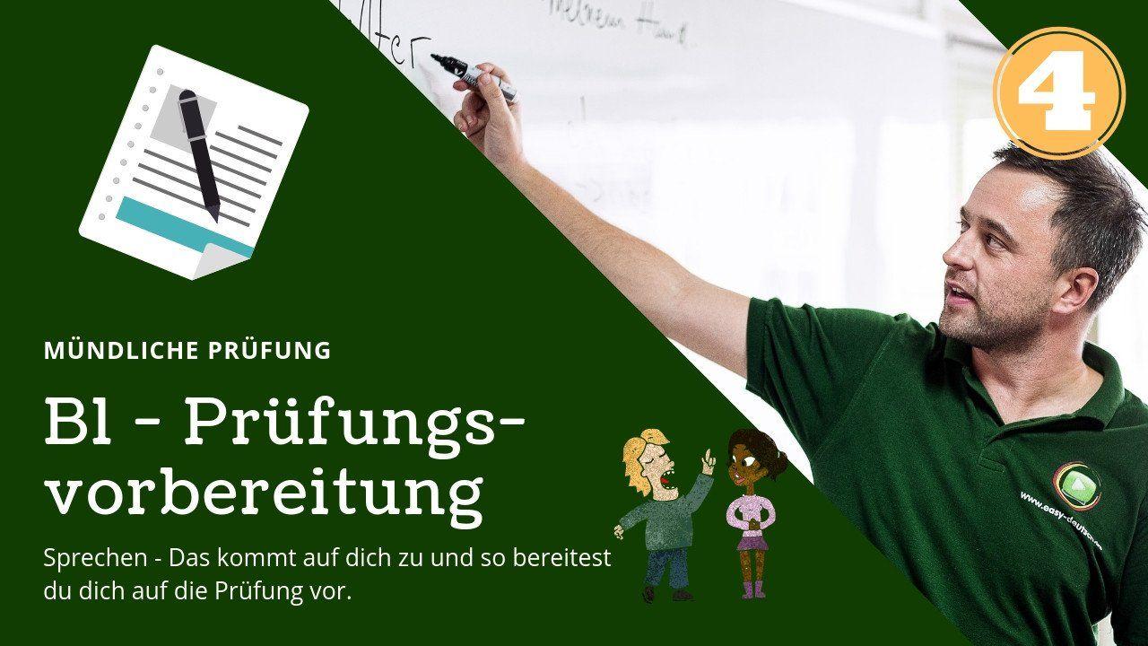 B1 Prüfungsvorbereitung Deutsch 4