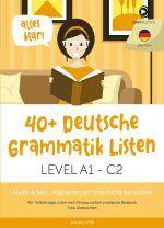 GRammatiklisten Deutsch