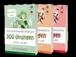 700 Seiten Übungen zur deutschen Grammatik
